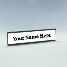 Interchangeable Name Plates - Style NPHW