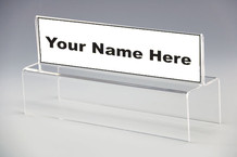 Name Plate Holders Top View Double Sided