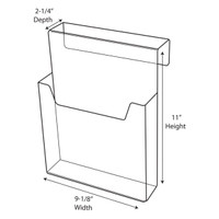 Cubicle Brochure Holder CBH091110022
