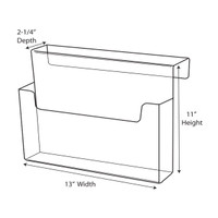 Cubicle Brochure Holder CBH130110022