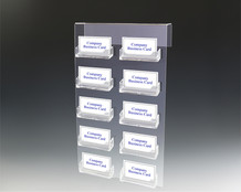 10 Pocket Cubicle Business Card Holders