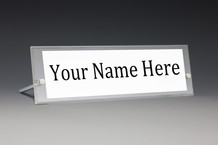 Desk Name Plate Holders - Desk Nameplates Style NPA2