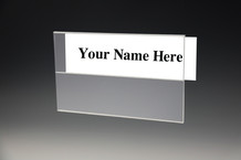 Wall Multi Panel Name Plate Holders - Wall Name Plates