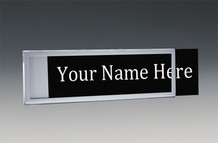 Wall Nameplates with Border - Wall Name Plate Holders