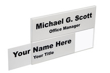 Wall 2-Tier Directional Name Plates - Plastic Products Mfg
