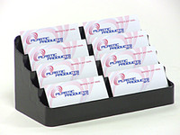 Black Business Card Holder 8 Pocket