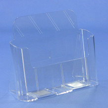 "8-1/2"" Wide Short Back Brochure Holders"