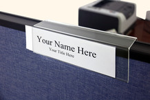 Name Plate Holders - Single Sided Name Plates