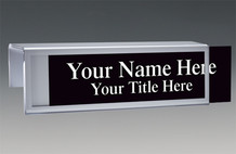 Cubicle Nameplates - Bordered Color Name Plates