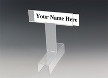 Top View Name Plate People Spotter - Name Plate Holders