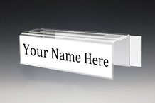Adjustable Cubicle Nameplate - Name Plate Holders