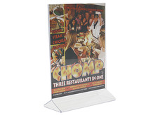 Top Loading Table Tents - Sign Holders