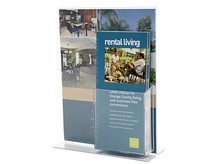 Sign Display Holders With Brochure Holder